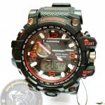 นาฬิกาข้อมือ US Submarine 2ระบบ (ดิจิตอล&เข็ม) สีดำส้ม กันน้ำ 30 เมตร