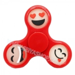 HF306 Fidget spinner -Hand spinner - GYRO (ไจโร) Basic emoji เรืองแสง