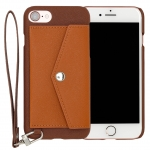 Rakuni for iPhone 7 Case Pocket Type ( Brown
