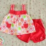 ไซส์ 3-6,6-9 เดือน ชุดเสื้อผ้าเด็กผู้หญิง