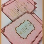 การ์ดแต่งงาน ADORA หน้าเดียว (B0201)
