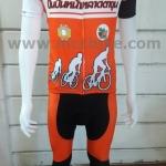 การสั่งตัดชุดปั่นจักรยาน ชุดจักรยานออกแบบเอง แบบตัวอย่างสำหรับ การออกแบบชุดจักรยาน - ทีม ปั่นปั่นหน้าหลาดตาขุน