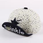 [ไซส์ 8-24 เดือน] Twinkle Star หมวกแก๊ปเด็กสไตล์เกาหลี น่ารัก สีน้ำเงินเข้ม