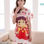 SL-I1-203 ชุดนอนผ้าซาตินจีน