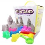 P116 ทรายนิ่ม Soft Sand Play Sand Mystery Castle ทรายคละ 3 สี น้ำหนักรวม 800 กรัม พร้อมอุปกรณ์