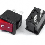 ROCKER SWITCH RED