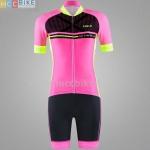 ชุดปั่นจักรยานผู้หญิง เสื้อปั่นจักรยาน พร้อมกางเกงปั่นจักรยาน Cheji 2017-03