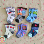 ไซส์ 0-3 เดือน ถุงเท้าเด็กเล็ก