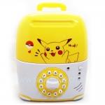 KA042 กระปุกออมสิน ตู้เซฟกระเป๋าเดินทาง ดูดเงินอัตโนมัติ Pikachu