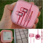 Xiaomi Piston Crystal Edition Rose Carmine Pink Earphones