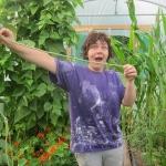ถั่วฝักยาว 1 เมตร - Extra Yard long Bean