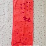 ผ้าขนหนูนาโน 11x27 นิ้ว สำหรับพาดบ่าป้องกันเด็กแหวะนม ซับน้ำได้ดี