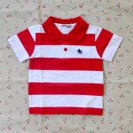 ไซส์ 1 เสื้อคอโปโลเด็กผู้ชาย ผ้าCotton อย่างดี