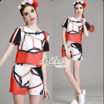 Rock Girl set two pieces shirt by Aris Code