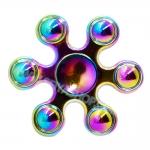 HF236 Fidget spinner -Hand spinner - GYRO (ไจโร) โลหะ สีรุ้ง