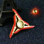 HF333 Fidget spinner -Hand spinner - GYRO (ไจโร) โลหะ ดาวกระจาย