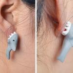 ต่างหู DIY สุดแนว ปลาฉลาว