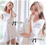 DR-LR-102 Lady Kristen Sweet Princess Alike Lace Dress