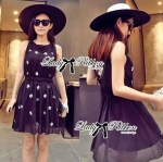 DR-LR-104 Lady Christen Super Glam Embellished Chiffon Dress