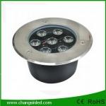 โคมไฟ LED แบบฝังพื้น DC12v 7w