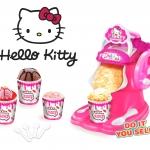 J002 เครื่องทำไอศรีม คิตตี้ Ice cream maker Kitty (ทำได้จริง)