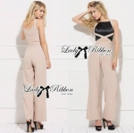 Lady Sienna Elegant Minimal Chic Style Cut-Out Jumpsuit L154-85C03