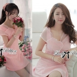 DR-LR-085 Lady Jane Sweet Delicate Ribbon Dress
