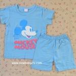 [ไซส์ 3-7 ปี] เสื้อยืดเด็กสกรีนลาย กางเกงขาสั้น ผ้า Cotton100% ผ้านิ่ม สำเนา