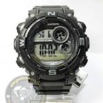 นาฬิกาข้อมือ US Submarine ระบบดิจิตอล รุ่น TP1331M สีดำเทา กันน้ำ 30 เมตร