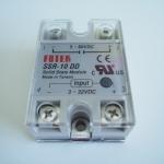 โซลิดสเตตรีเลย์ Solid state relay 10A SSR -10DD
