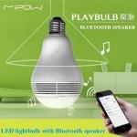 หลอดไฟอัจฉริยะ Mipow PLAYBULB Smart LED เปิดเพลง ตั้งปลุก ผ่าน Smart-Phone (BT100s)