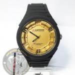 นาฬิกาข้อมือ US Submarine ระบบอนาล็อก รุ่น TP2132M สีดำทอง กันน้ำ 30 เมตร