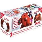 SU023 Zaini Chocolate Egg Surprise ไข่ เซอร์ไพร์ส ช๊อคโกแล๊ค พร้อมของเล่นสุดฮิต - BIG HERO 6