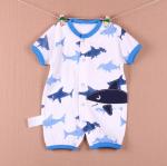 [ไซส์ 0-3,3-6 เดือน] บอดี้สูทเด็ก ปักลาย น่ารัก ต้อนรับ Summer
