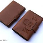 Oak(น้ำตาลอ่อน) - Sashy Card Wallet