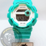 นาฬิกาข้อมือ US Submarine ระบบดิจิตอล รุ่น TP1351L สีมิ้น กันน้ำ 30 เมตร