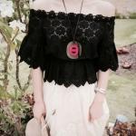 Partysu Huggable Lace Short Blouse C170-57A05