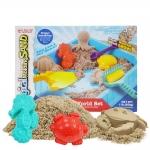 P119 ทรายนิ่ม Magical molding sand พร้อม ทรายสีธรรมชาติ น้ำหนัก 450 กรัม พร้อมอุปกรณ์