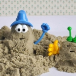 P063 ชุดอุปรณ์ ทรายนิ่ม Soft Sand Play Sand ชุด ตัวการ์ตูน (ไม่รวมทราย)