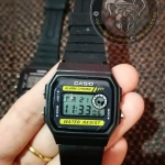 นาฬิการสายยางสีดำ ดิจิตอล Fashion03