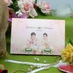 การ์ดแต่งงานสองพับ(75061)
