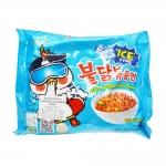MM007 มาม่าเกาหลีรสเผ็ด สูตรเย็น ซัมยัง ฮ็อตชิคเค่น ราเม็ง แบบซอง มีอย.รับรอง