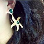 ต่างหู Gold Starfish
