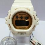 นาฬิกาข้อมือ US Submarine ระบบดิจิตอลหน้าปัดใหญ่ สีขาวหน้าปัดสีทอง กันน้ำ 30 เมตร