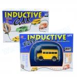 Z076 Inductive car กำหนดทิศทางด้วยการวาดเส้น รถโรงเรียน สีเหลือง