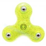 HF126 Hand spinner - GYRO (ไจโร) -Fidget spinner Basic กากเพชร สีเขียว