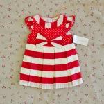 ไซส์ 0-3 เดือน Laura Ashley ชุดกระโปรงเด็กผู้หญิง