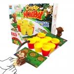 BO092 Crazy Monkey coconuts duo game ลิงโยนบอล ลิงดีดมะพร้าว ของเล่นแฟมิลี่ เกมส์เล่นสนุกนาน กับเพื่อนๆ และ ครอบครัว