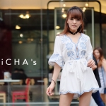 Anista Embroidery Playsuit