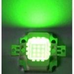 หลอด LED 10W Green Hi-Power 12V (ไฟไดหมึก)